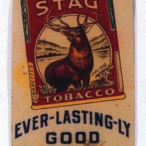 Stag Tobacco Door Push