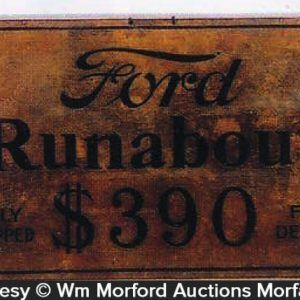 Ford Runabout Sign
