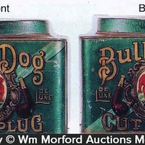 Bull Dog Tobacco Tin Can