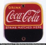 Coca-Cola Match Scratcher