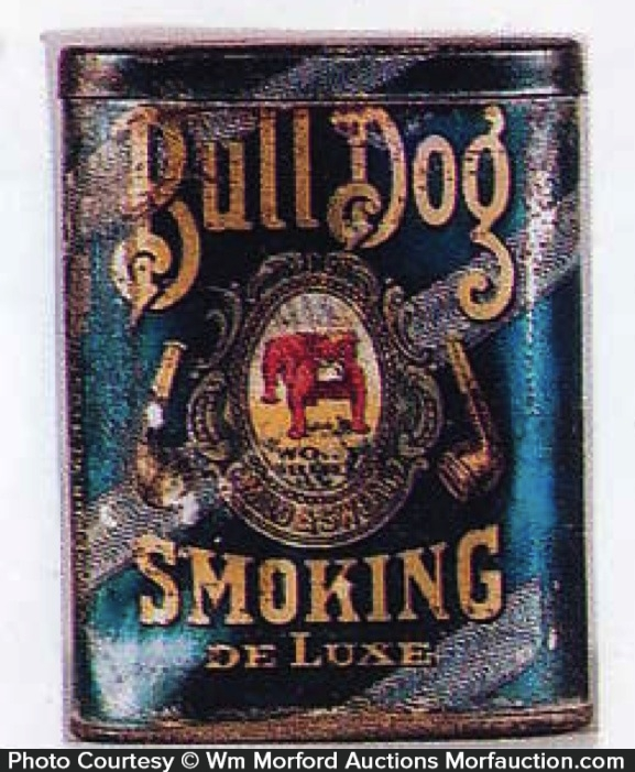 Bull Dog Tobacco Tin