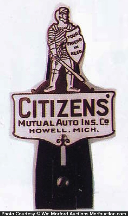 Citizens Insurance Bumper Tag