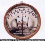 Alliance Insurance Thermometer