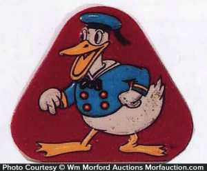 Donald Duck Candy Tin