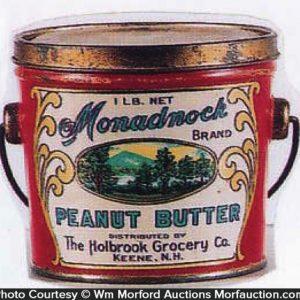 Monadnock Peanut Butter Pail