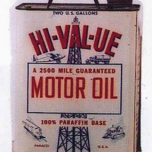 Hi-Val-Ue Oil Can