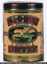 Pal-O-Mine Coffee Can
