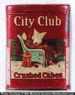 City Club Tobacco Tin