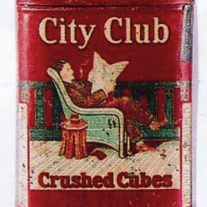 City Club Tobacco Tin