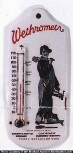 Wethrometr Thermometer