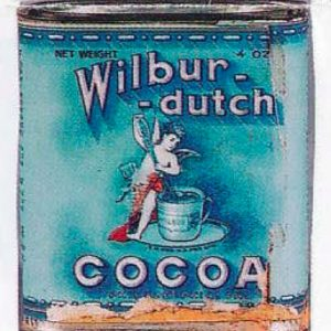 Wilbur-Dutch Cocoa Tin