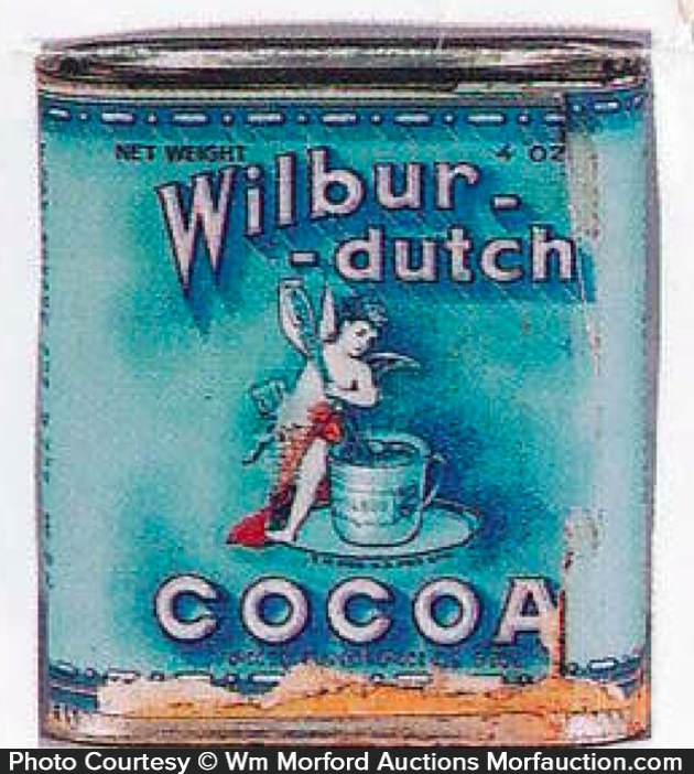 Wilbur-Dutch Cocoa Tin