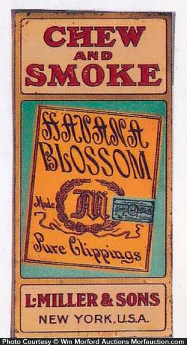 Havana Blossom Tobacco Sign