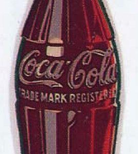 Porcelain Coke Bottle Sign