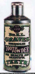 Dr. Graves Tooth Powder Tin