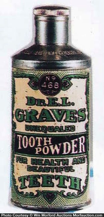 Dr. Graves Tooth Powder Tin