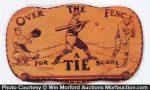 Baseball Tie Rack
