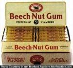Beech-Nut Gum Display
