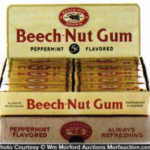 Beech-Nut Gum Display