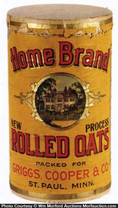 Home Brand Oats Box