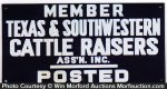 Texas Cattle Raisers Sign