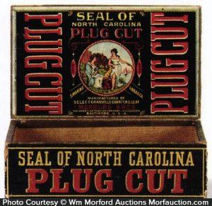 Seal Of North Carolina Tobacco Box