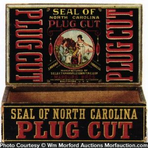 Seal Of North Carolina Tobacco Box