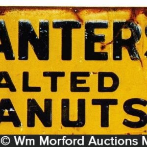 Planters Salted Peanuts Sign