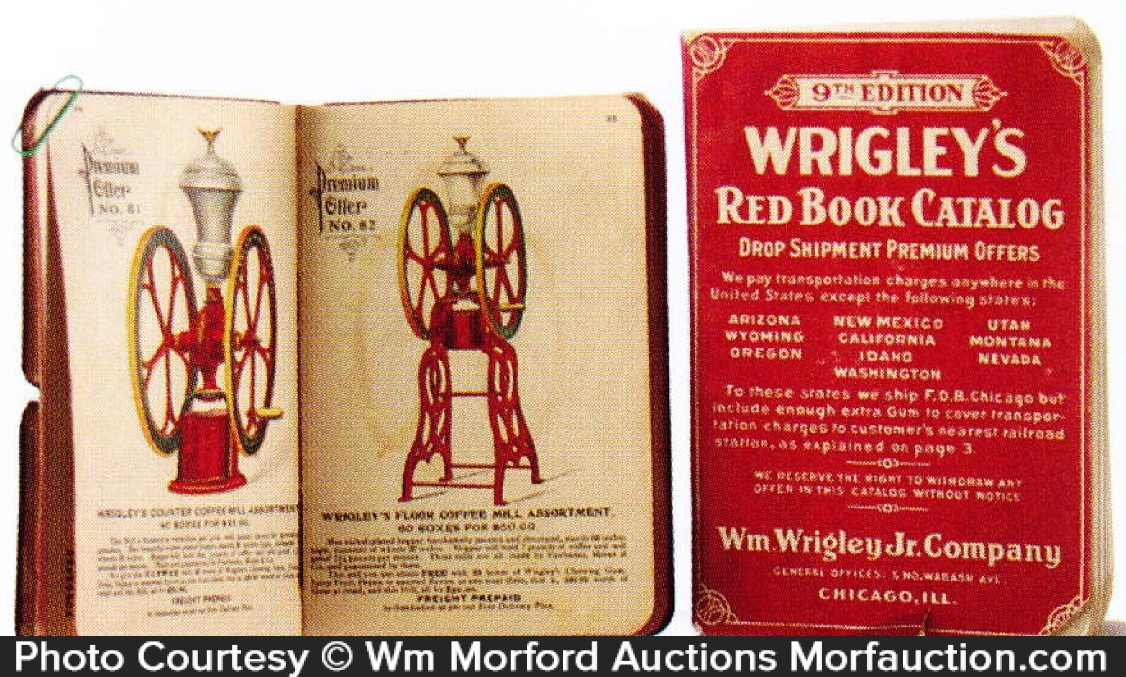 Wrigley's Red Book Catalog