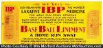 Baseball Liniment Sign
