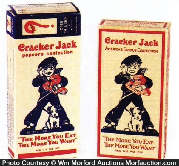 Cracker Jack Boxes
