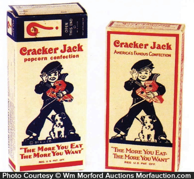 Cracker Jack Boxes