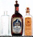 Vintage Hair Tonic Bottles