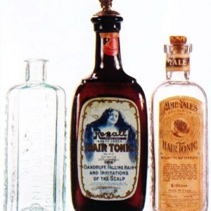 Vintage Hair Tonic Bottles