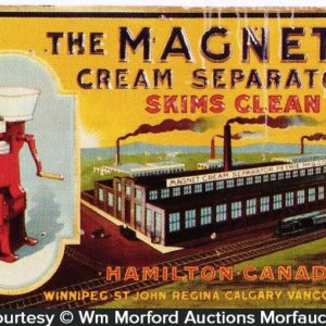 Magnet Cream Separator Sign