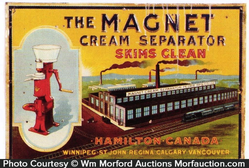 Magnet Cream Separator Sign
