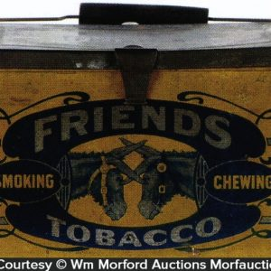 Friends Tobacco Tin Pail