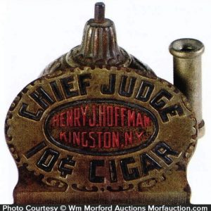 Chief Judge Cigar Lighter Base