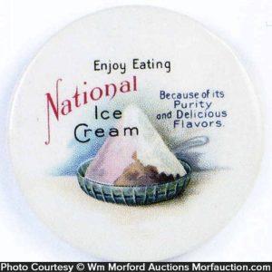 National Ice Cream Pocket Mirror