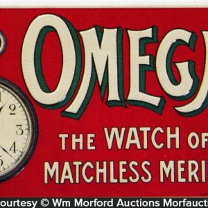 Omega Watch Sign