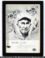 Ty Cobb Louisville Slugger Poster