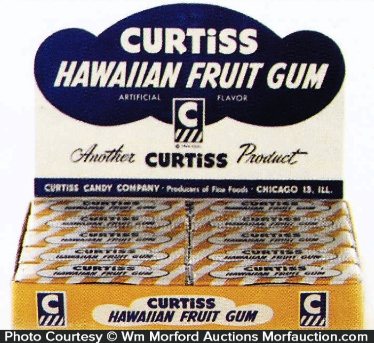 Curtiss Hawaiian Gum Packs