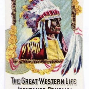 Great Western Celluloid Pocket Calendar