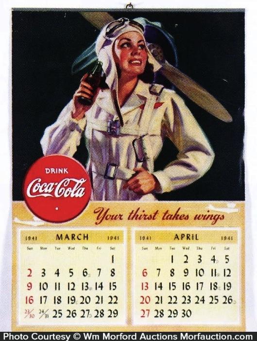1941 Coca-Cola Calendar