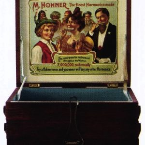 Hohner Harmonica Display Box