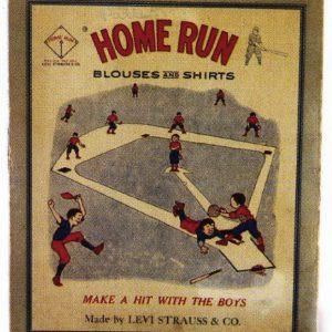 Levi Strauss Home Run Shirt Box