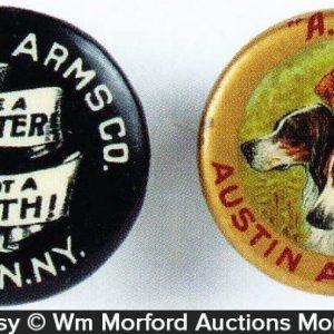 Vintage Ammo Pins