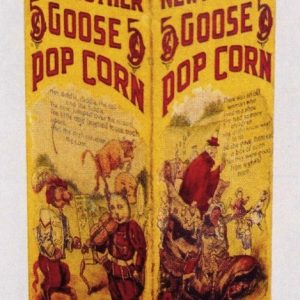 Mother Goose Pop Corn Box