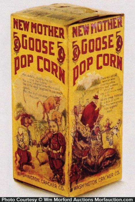 Mother Goose Pop Corn Box