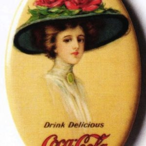Coke Pocket Mirror
